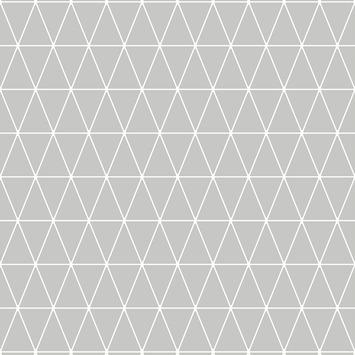 Vliesbehang Driehoek grijs 32-830