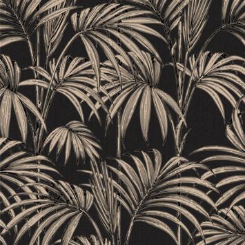 Gamma graham brown vliesbehang 32 970 honolulu zwart goud kopen natuur bloemen - Behang zwart en goud ...