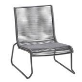 Loungestoel Capri grijs