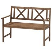 Bank voor twee vintage hout