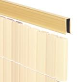 U-profiel bamboe voor balkonscherm 150 cm
