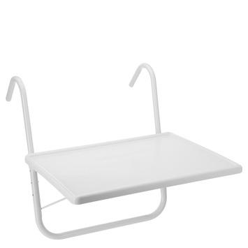 Gamma balkontafel wit kopen tuintafels for Karwei openingstijden zondag
