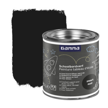 GAMMA schoolbordverf zwart 250 ml