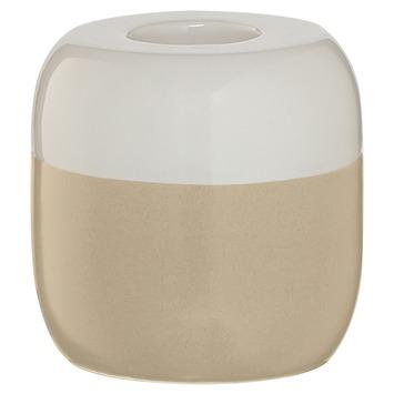 Sealskin Kaarsenhouder Sphere porcelein zand