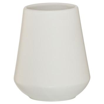 Sealskin Beker Conical porcelein wit
