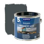 GAMMA buitenbeits dekkend UV extra antraciet grijs 2,5 liter