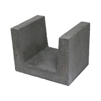 U-element Beton Grijs 30x40x30 cm - 18 Stuks