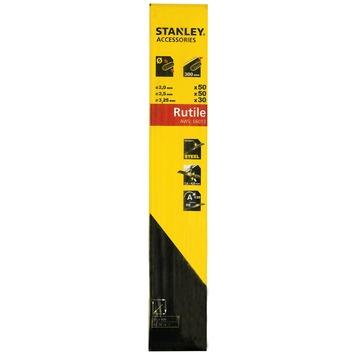 Stanley laselektroden rutile set 130 stuks