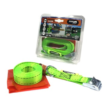 Jumbo 2-in-1 spanband, normale spanband en kofferbakspanband in 1