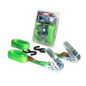 Jumbo spanband set groen 2 x 4m 25mm