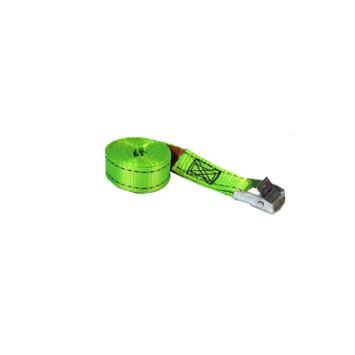 Jumbo spanband groen  3m 25mm met klemgesp