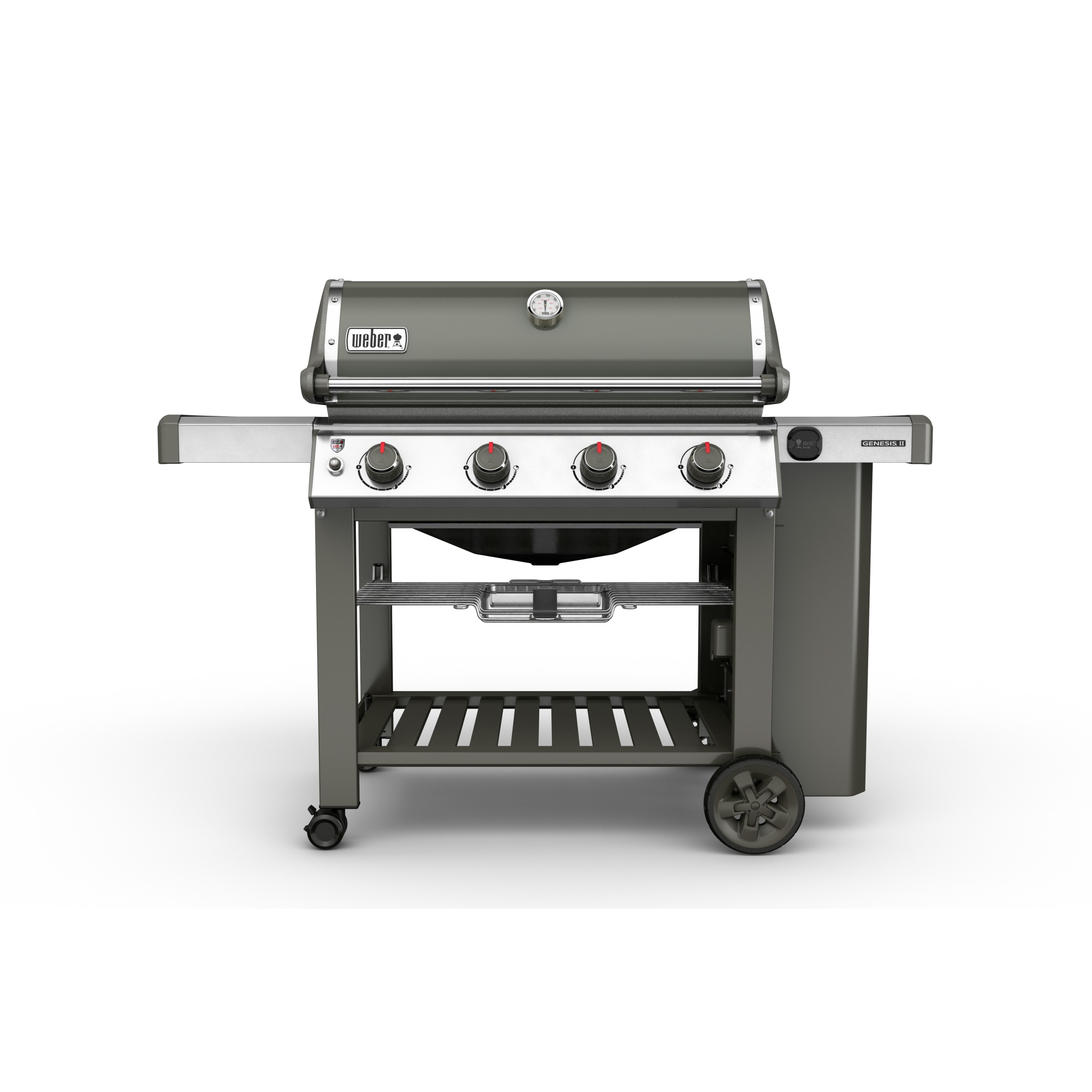 Weber Genesis E-410 Premium GBS grijs