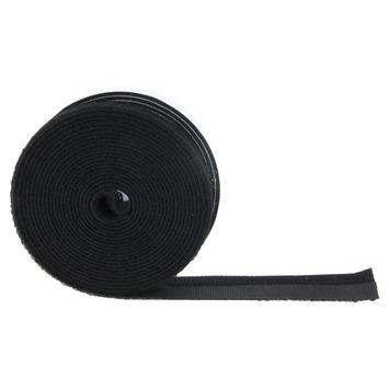 Bruynzeel klittenband zwart 15mm 400cm
