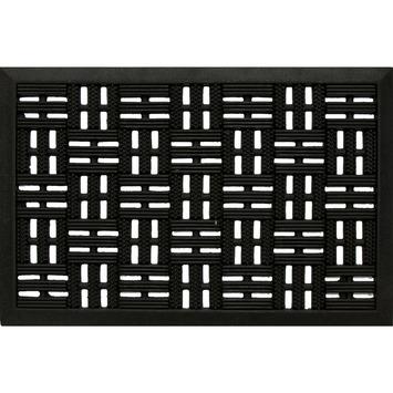 Buitenmat 40x60 cm zwart