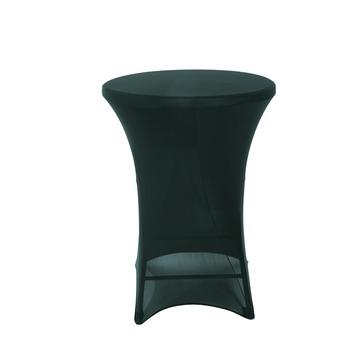 Kleed Voor Statafel.Hoes Statafel Zwart 110x80 Cm