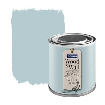 GAMMA Wood&Wall krijtverf Bashful Blue 100 ml
