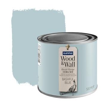 GAMMA Wood&Wall krijtverf Bashful Blue 500 ml