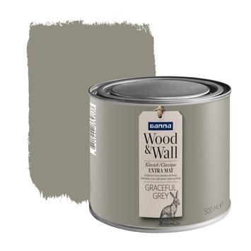 GAMMA Wood&Wall krijtverf Graceful Grey 500 ml