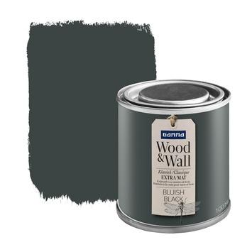 GAMMA Wood&Wall krijtverf Bluish Black 100 ml