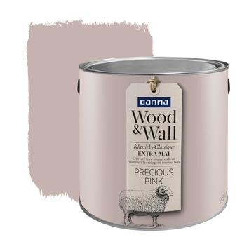 GAMMA Wood&Wall krijtverf Precious Pink 2,5 liter