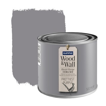 GAMMA Wood&Wall krijtverf Prettiest Purple 500 ml