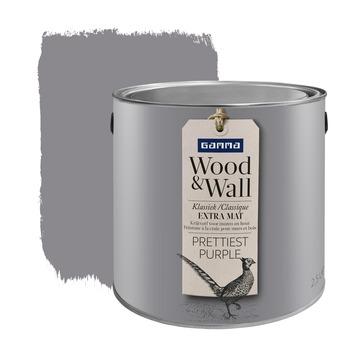 GAMMA Wood&Wall krijtverf Prettiest Purple 2,5 liter