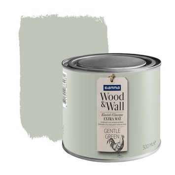 GAMMA Wood&Wall krijtverf Gentle Green 500 ml