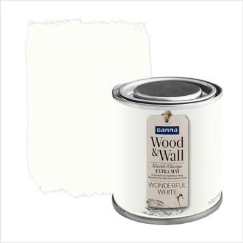 GAMMA Wood&Wall krijtverf Wonderful White 100 ml