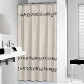 Sealskin douchegordijn Bath&Shower ecru 200x180 cm