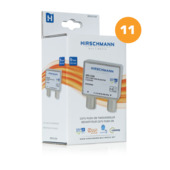 Hirschman Coax Splitter Push On