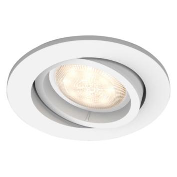 Philips Shellbark inbouwspot rond 1X4,5W LED wit