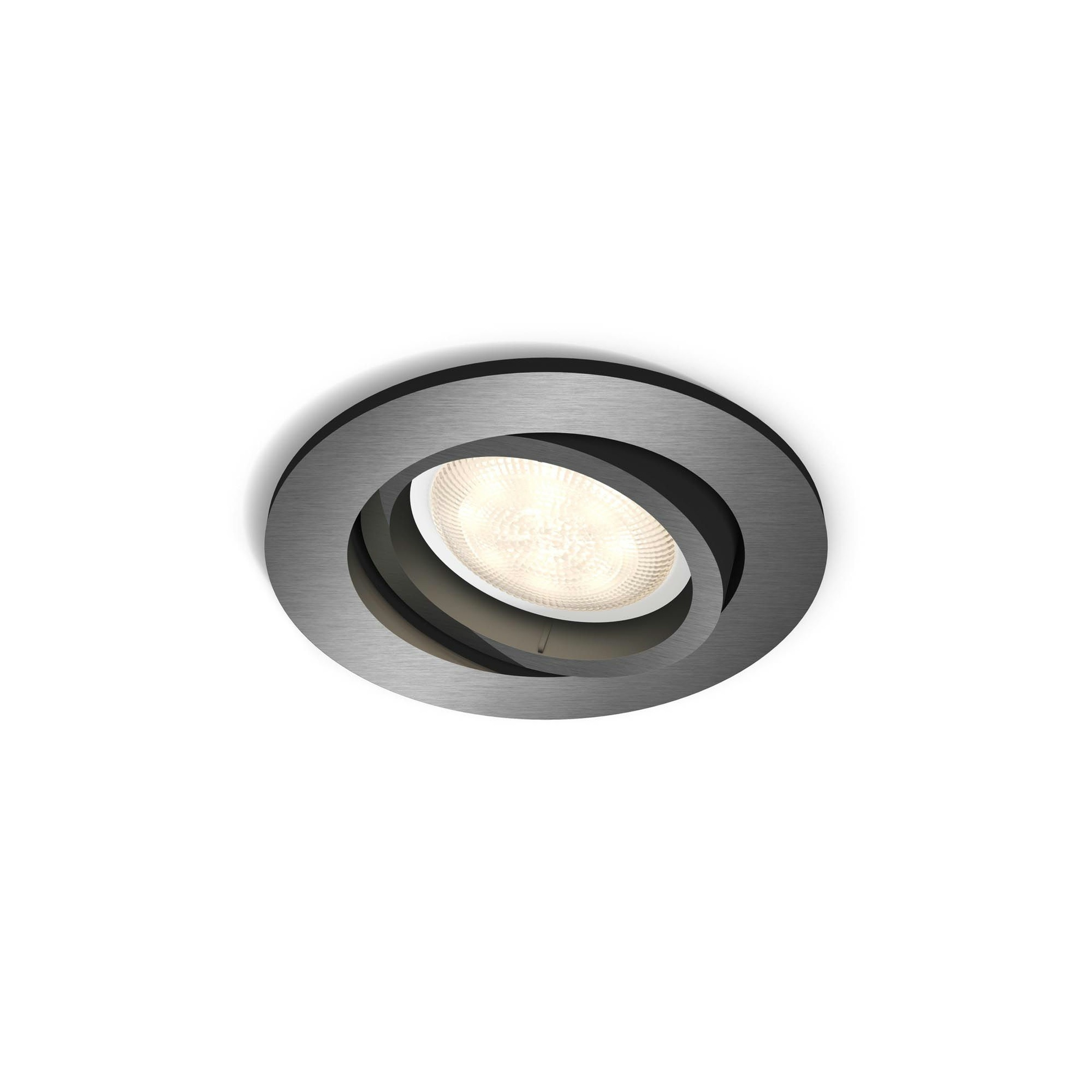 Philips Lighting Shellbark 5020199P0 LED-inbouwlamp 4.5 W Warm-wit Antraciet