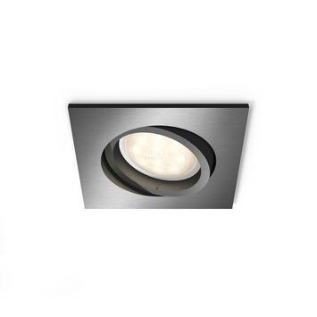 Philips Shellbark LED inbouwspot 4.5W grijs