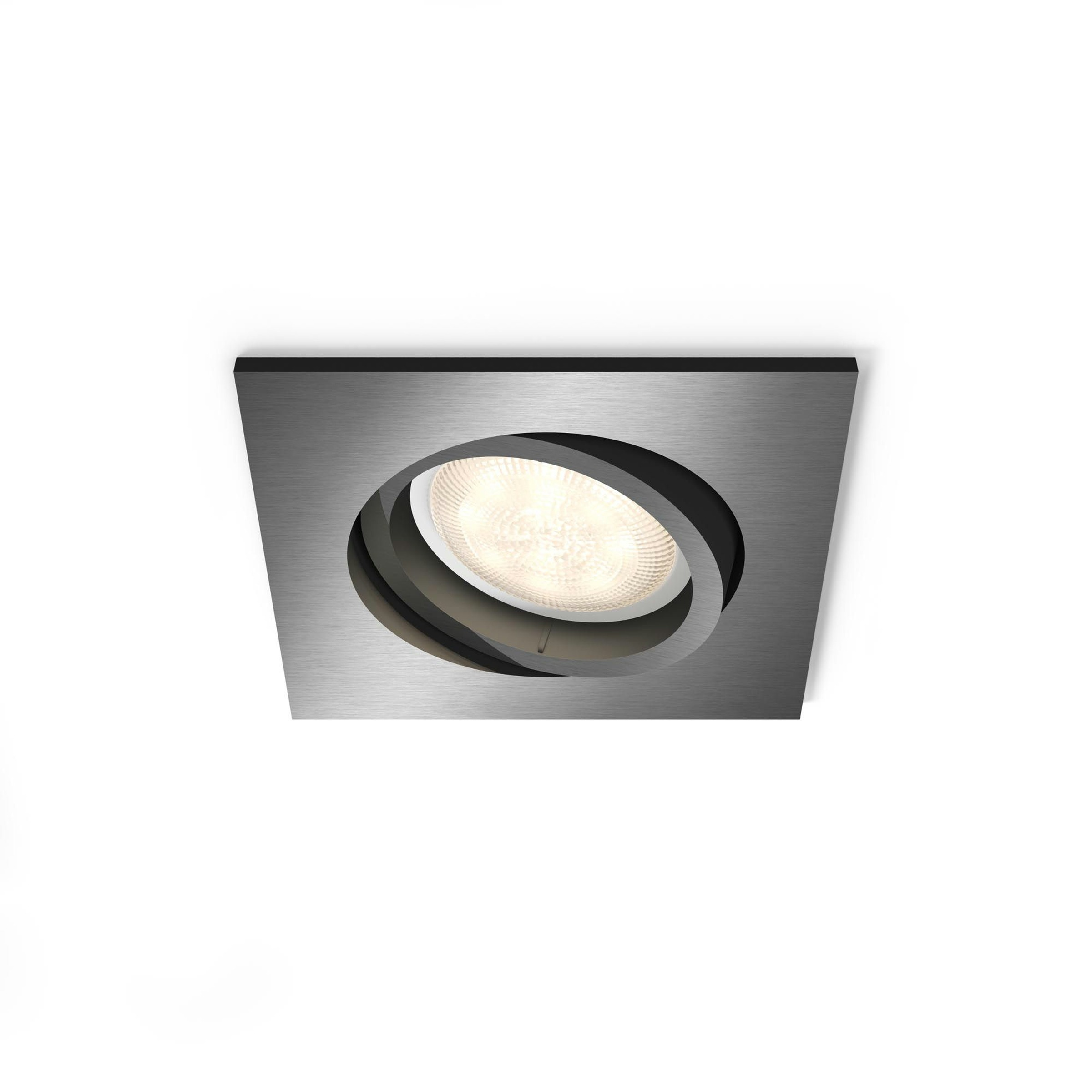 Philips Lighting Shellbark 5039199P0 LED-inbouwlamp 4.5 W Warm-wit Antraciet
