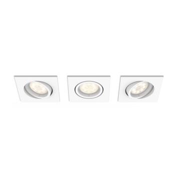 Philips Shellbark LED inbouwspot 4.5W wit