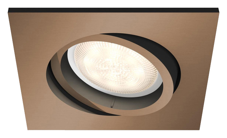 Philips Lighting Shellbark 5039105P0 LED-inbouwlamp 4.5 W Warm-wit Koper