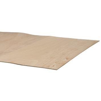 Multiplex hardhout buigbaar 244x122 cm 5 mm