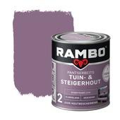 Rambo vintage pantserbeits tuin- en steigerhout dekkend stoer paars zijdeglans 750 ml