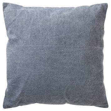 Kussen Canvas blauw 45x45 cm