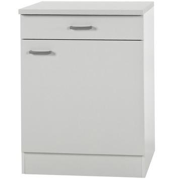 Klassik 60 onderkast 606-6 wit 60 cm