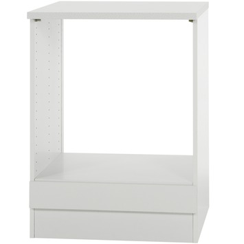 Klassik 60 oven inbouwkast 634-6 wit 60 cm