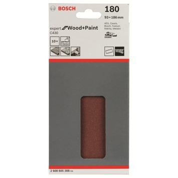 Bosch Prof Schuurpapier 93x185mm K180 Expert