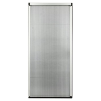 Bruynzeel plissédeur 900 serie wit 96x239-242 cm