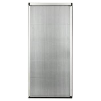 Bruynzeel plissédeur 900 serie wit 96x254-257 cm