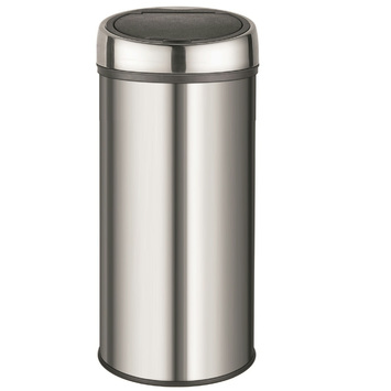 Aanbieding Brabantia Touch Bin 30 Ltr.Gamma Handson Soft Touch Bin 30 Liter Metaal Kopen