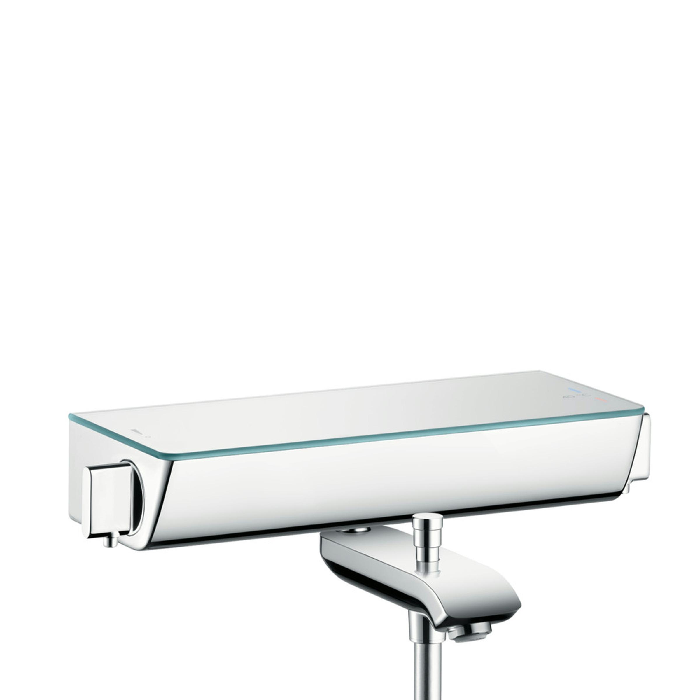 Hansgrohe Ecostat Select badmengkraan chroom-wit 13141400