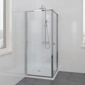 Bruynzeel zijwand Solid II 90x200 cm