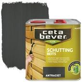 CetaBever schuttingbeits antraciet 2,5 liter
