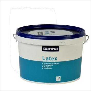 GAMMA latex wit mat 2,5 liter