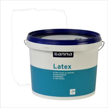 GAMMA latex wit mat 5 liter